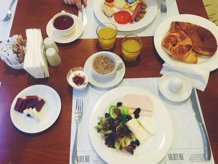 Having continental breakfast in a turksih hotel in Istanbul Bread Breakfast Cheese! Coffee Continental Breakfast Eggs Food Food And Drink Freshness Glass Healthy Eating Healthy Lifestyle Hotel Breakfast Juice Olives Plate Table Turkish Turkish Breakfast  Turkish Food Yogurt