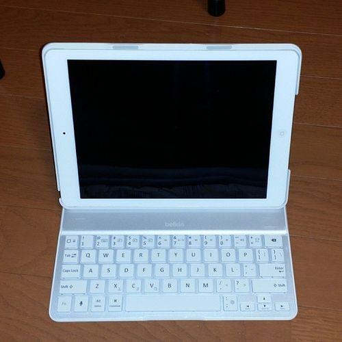 高かったけどめっちゃ使いやすいキーボード♡ Ipadair Belkin