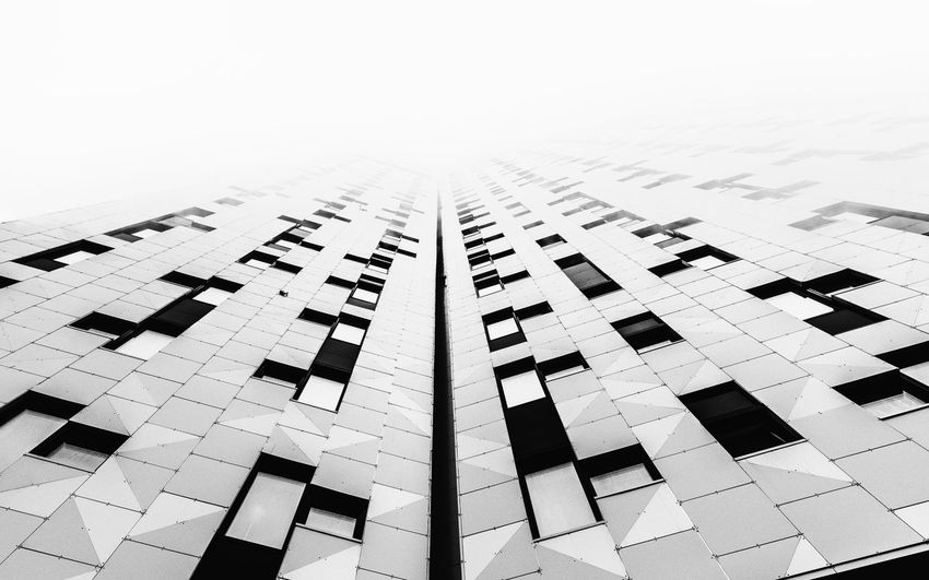 - HIGHER, FASTER, FURTHER - Check This Out Higherfasterfurther Urban Architecture Urban Foggy Sky Fog Foggy No People Architecture Geometric Shape Design Shape Built Structure Day Close-up Pattern Paper Full Frame Backgrounds Outdoors Art And Craft Creativity High Angle View White