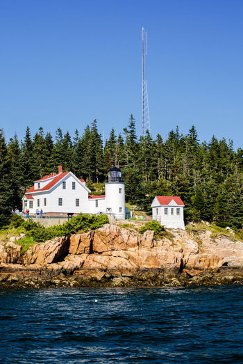 New England summer scenes Acadia Acadia National Park Architecture Atlantic Ocean Bar Harbor Bass Harbor Blue Building Exterior Built Structure Clear Sky Day House Lake Maine Mount Desert Island Nature Nature Photography New England  New England Charm New England Nature No People Outdoors Sky Tree Water