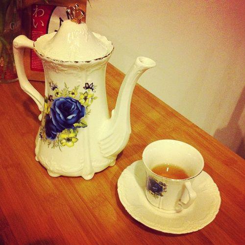 好貴氣的茶具〜