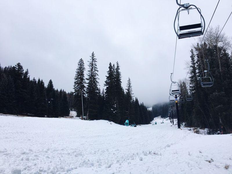 Santa Fe Ski Basin Snow Ski Lift Santa Fe New Mexico