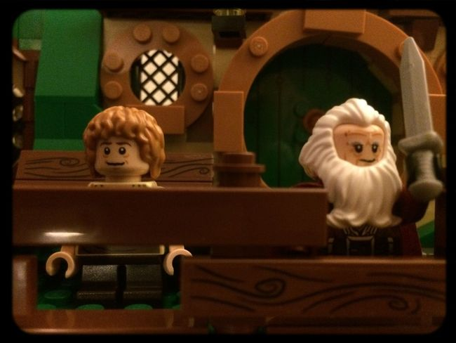 The Hobbit Bilbobaggins TheHobbit LEGO