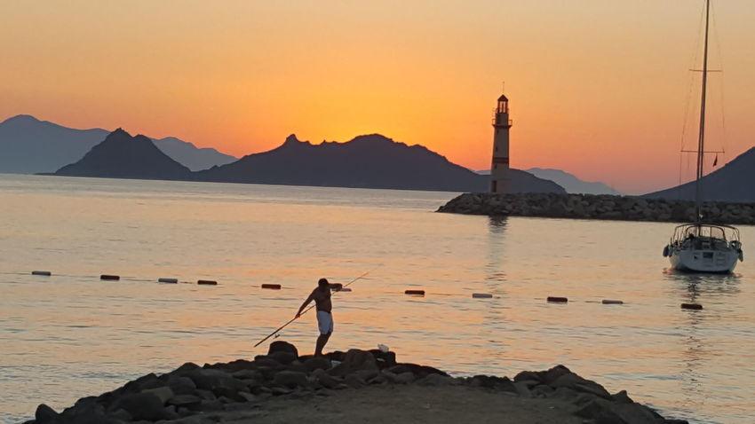 Turgutreis Turkey sunset sea Turkey Turgutreis  Nature_collection Sunset_collection Natural EyeEm Ready