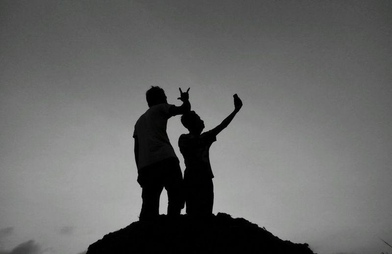 selfie on the sky hehehe Selfienation Cheese! Youngblood Bwmania Wonopringgo Surobayan