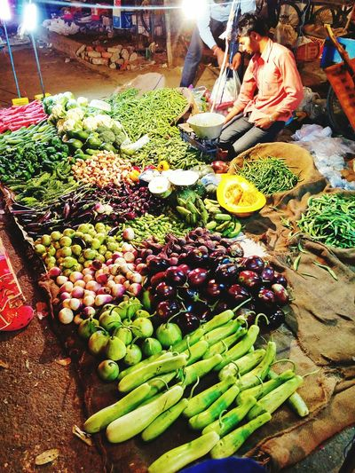 Full frame shot of vegetables for sale