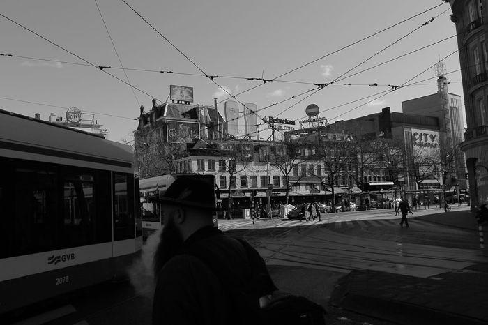 Amsterdam Leidseplein Beard