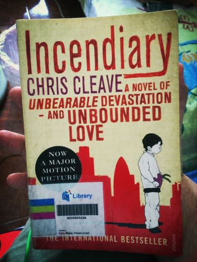 One of Chris Cleave's insane novel. Insane, but wicked. Love it too! Reading Singapore Books Catchherfart