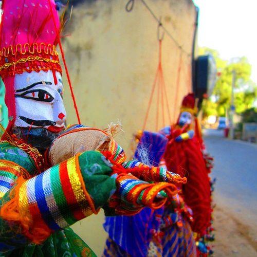 Lovely rajasthani kathputlis Mandawa Incredible India
