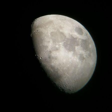 Celestron P9 Moon from Costa Rica