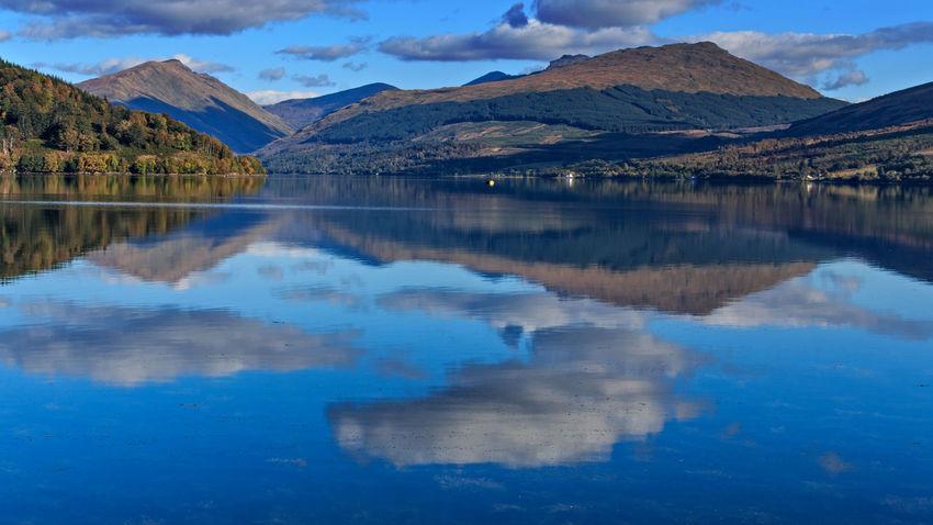 Loch Fyne from Inveraray Inveraray Landscape Loch Fyne Lochs Mountain Nature Scenics Scotland Tranquil Scene Water