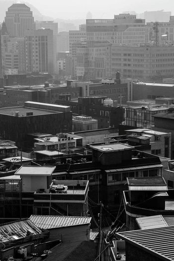 Seoul Cityscapes Photography City Draw A City City View  Silent Forest Black & White Blackandwhite Cityscape