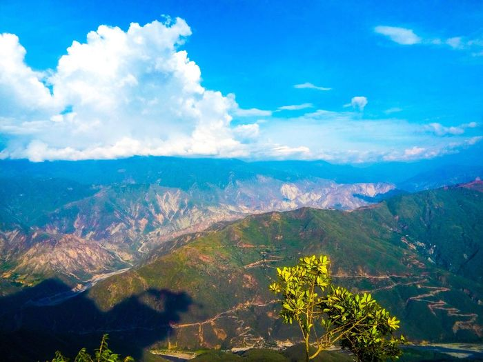 Nature Sky Mountain Landscape No People Tranquility Colombia