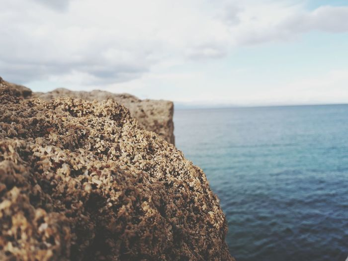 Perspectives On Nature EyeEm Selects Sea Beach Nature Cloud - Sky Water Outdoors Sky Horizon Over Water Tranquility Sand No People Day Beauty In Nature Scenics Close-up