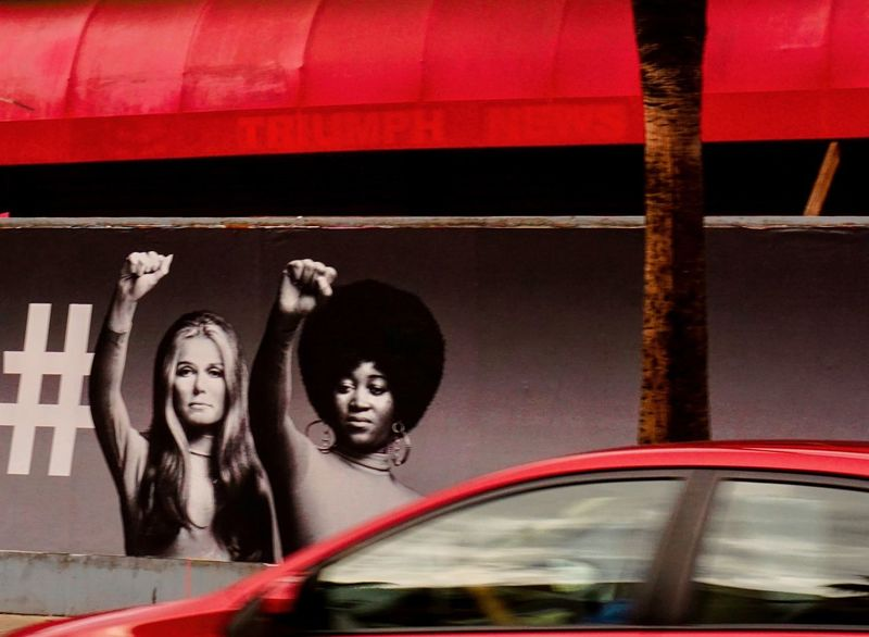 International Woman's Day Famous HASHTAG Liberation Power Retro Building Exterior Day Empowerment  International Woman Day Movement No People Outdoors Raised Fist Red Color Sign Of The Times Vintage Women California Dreamin Inner Power
