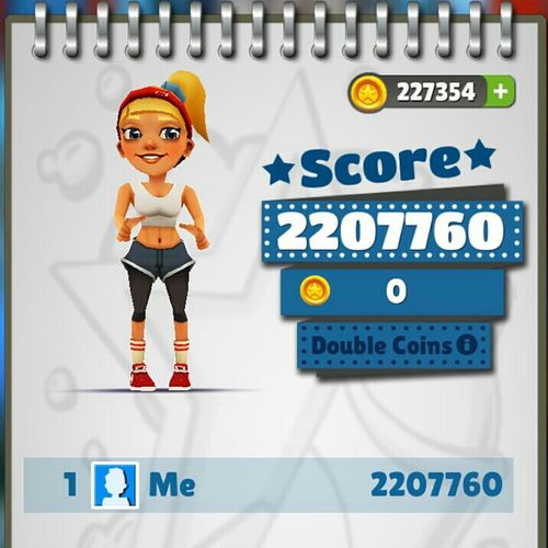 New Score In Subway Surfers