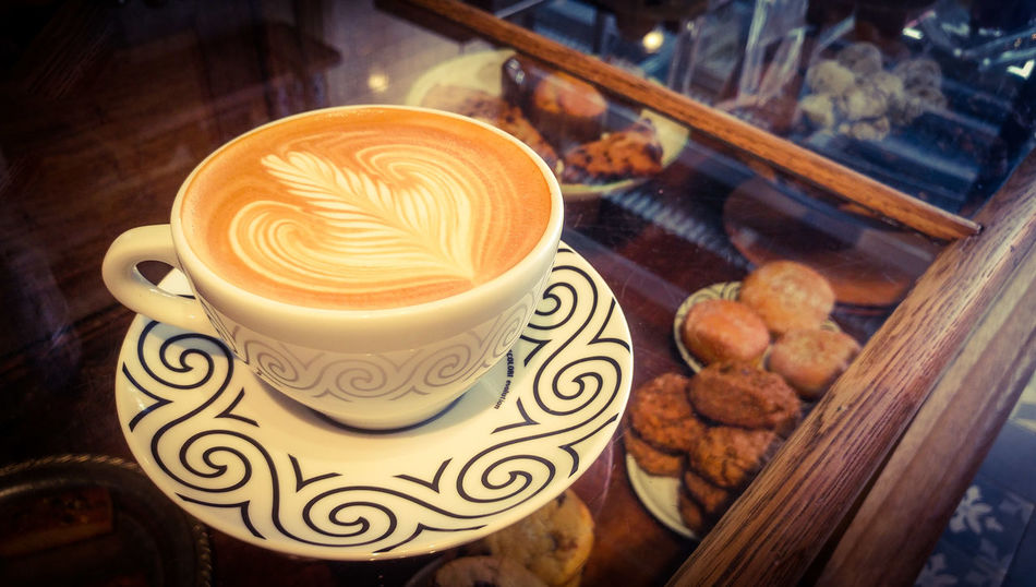 Happy National Coffee Day! Coffee - Drink Cappuccino Coffee Cup Heart ShapeNYC Food And Drink Photography Art Color NYC