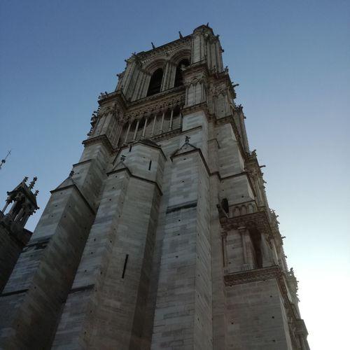 Church France🇫🇷 Sky Ciel Dégagé Travel Destinations History Outdoors Built Structure Toursim No People Clear Sky