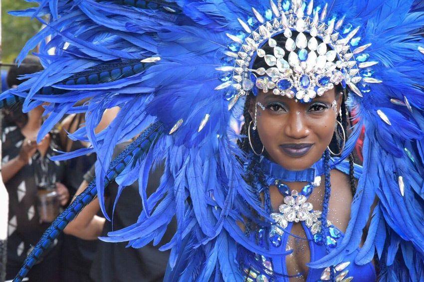 Notting Hill Notting Hill Carnival Carnival Carnival Spirit Carnival Spirit 2016 Streetdance Parade Streetdancer Carnival Dancer Blue Fun