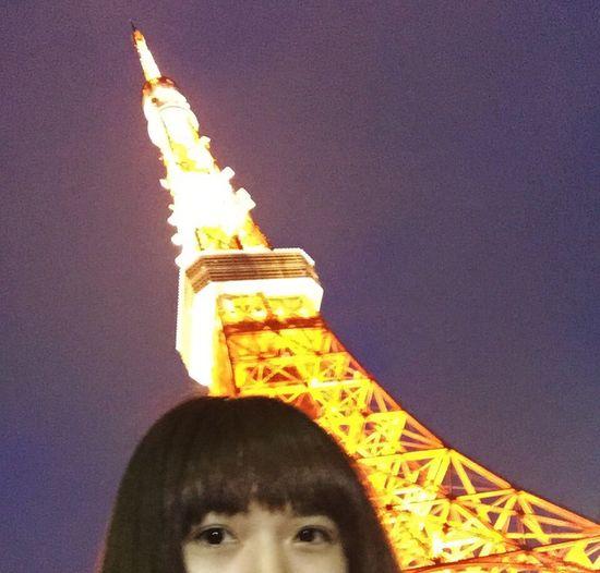 耶一 Tokyo Tower 好美 20150516 Sat
