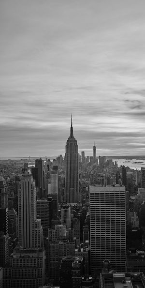 New york seen from top of the rock