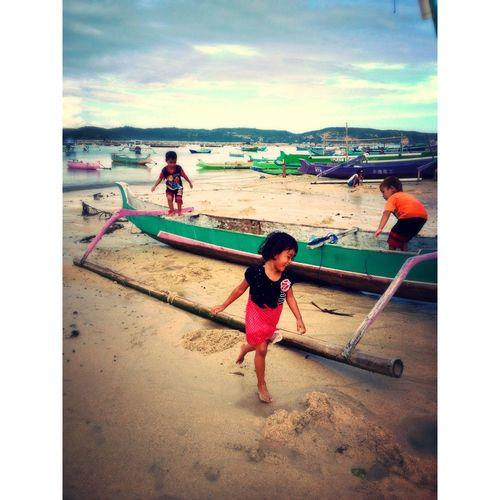 Kids Being Kids INDONESIA EyemIndonesia Lombok Gerupukbeach