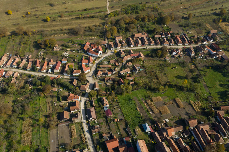 Aerial drone image of the village of Rimetea (Torocko in Hungarian). Transylvania, Romania Architecture Building Exterior Built Structure High Angle View Building Day Residential District Outdoors No People Village Rural Scene Rural Village Photography Villages Village View Drone  Dronephotography Drone Photography Droneshot Aerial View Aerial Aerial Shot Aerial Photography Torocko Rimetea