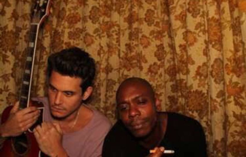 these two... Dave Chappelle John Mayer Music Music Brings Us Together Comedy Comeback Love Enjoying Life Exclusive  Show