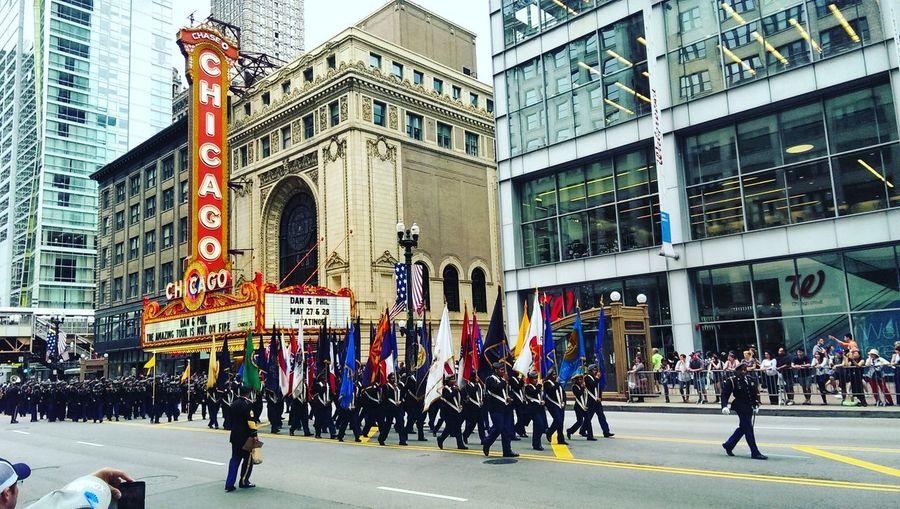 Original Experiences Chicago Memorialdayweekend Hello World Wesalutealltheservicemenandwomen