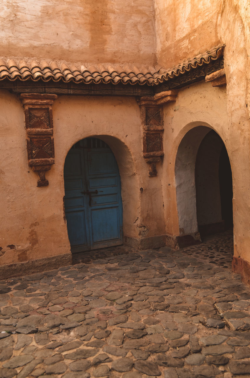 ENTRANCE OF OLD HOUSE