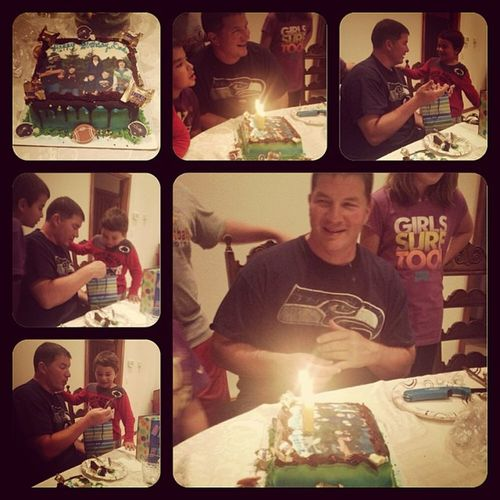 Dad's Birthday Dinner! ??? Happybrirthday Loveyoudad Family
