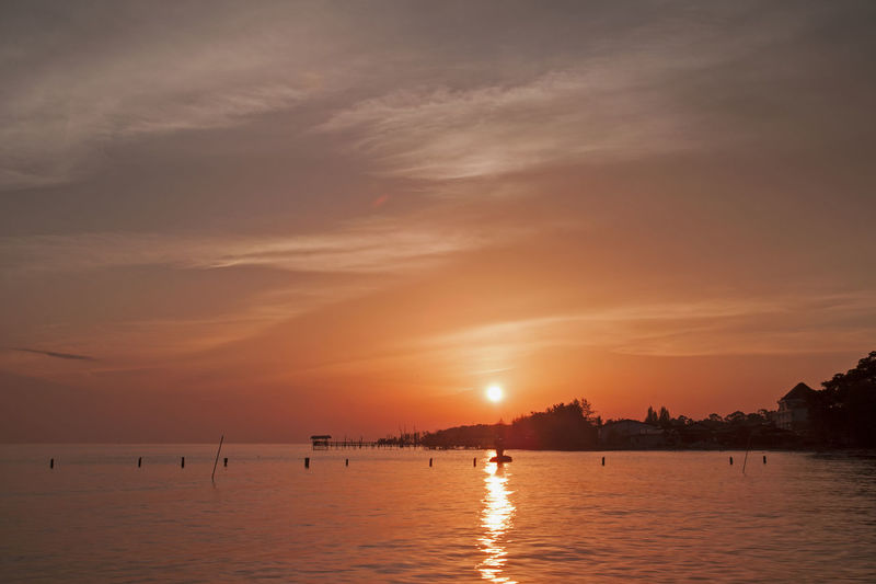 Atmosphere Beach Beauty In Nature Light Majestic Malaysia Morib Outdoors Places Of Interest Scenery Scenics Sea Seascape Sky Sunset Tourism Tranquil Scene Tranquility