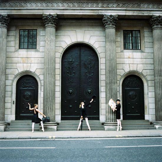 { Film } Ballerinas, London / Hasselblad 500C/M, Kodak Portra 400 Film Filmisnotdead Hasselblad Kodak