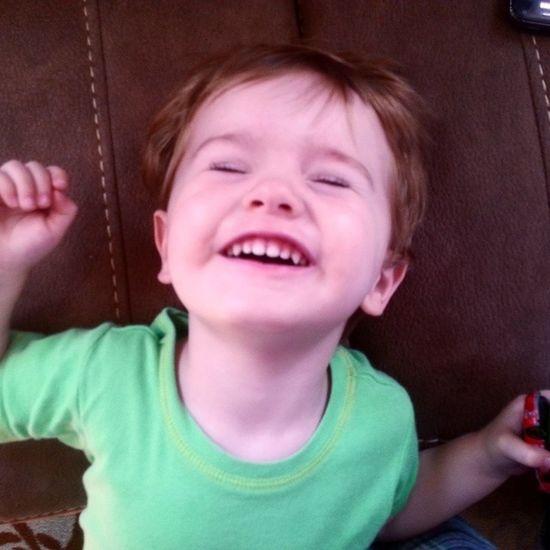 This goober makes me so happy. Aiden Littleman I♥You Nephew  Love Family