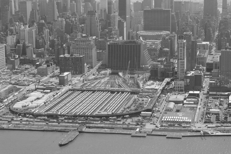 Building Exterior City Built Structure Architecture Cityscape Skyscraper Office Building Exterior Building High Angle View No People Day Outdoors Urban Skyline Industry Landscape Nature Tall - High Residential District Financial District  New York Manhattan Blackandwhite Black And White