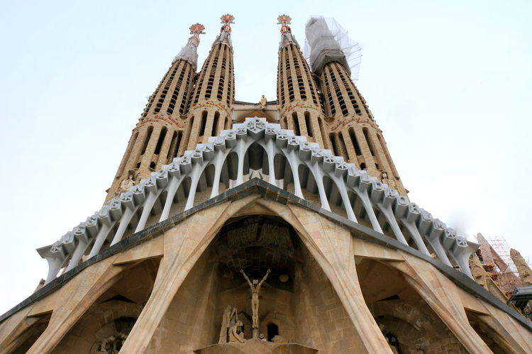 Architecture Barcelona Catalunya Christianity Church Faith No People Religion Sagrada Familia