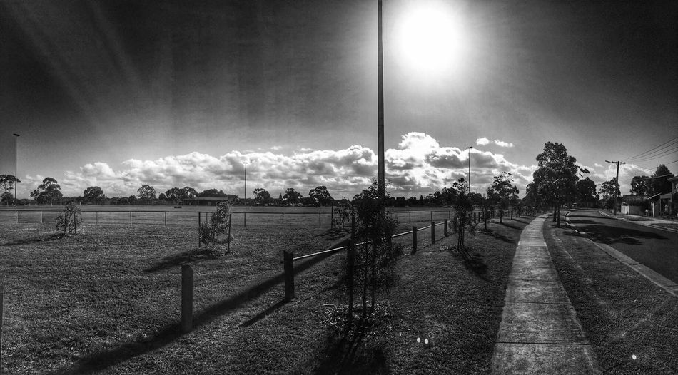 Clouds B&w Photography