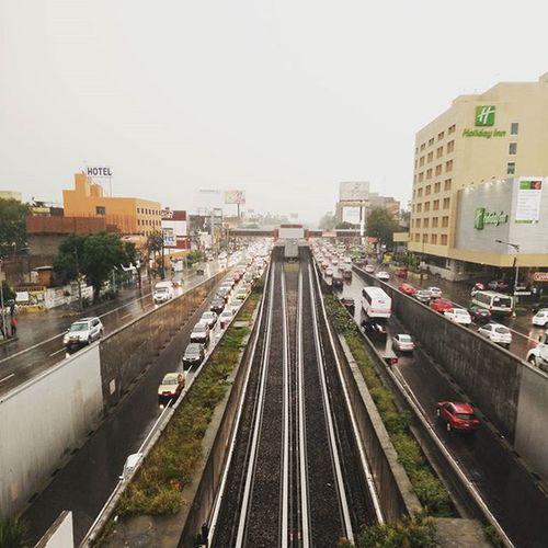 Un día lluvioso en el df Lluvia Df Calzdetlalpan Cdmx Igcdmx Igmexico Instagram