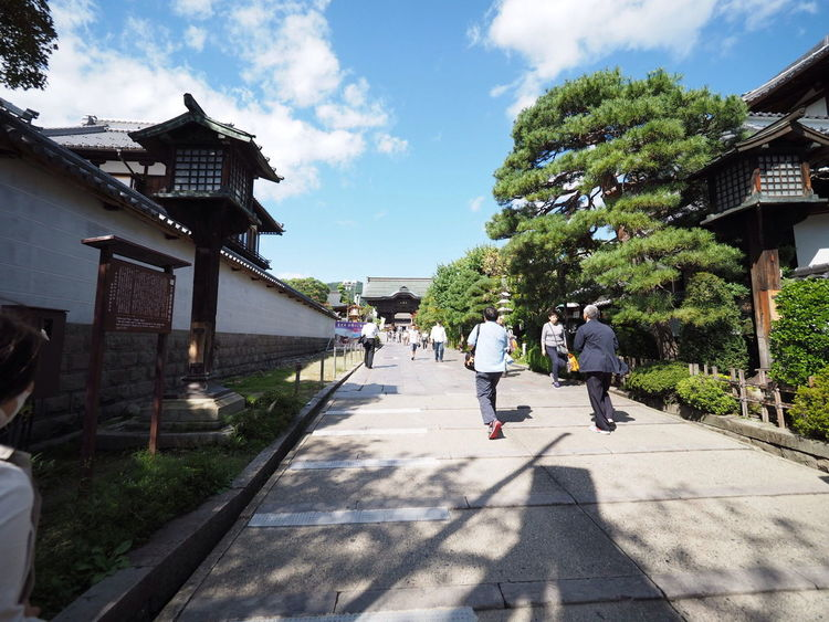 EEA3-Nagano 善光寺 (zenko-ji Temple) 参道