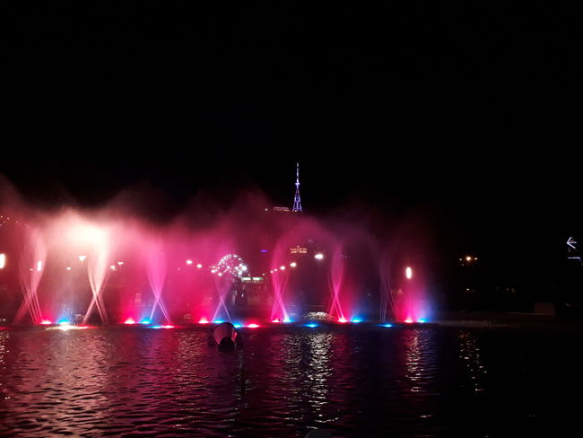 Popular Music Concert City Water Nightlife Arts Culture And Entertainment Illuminated