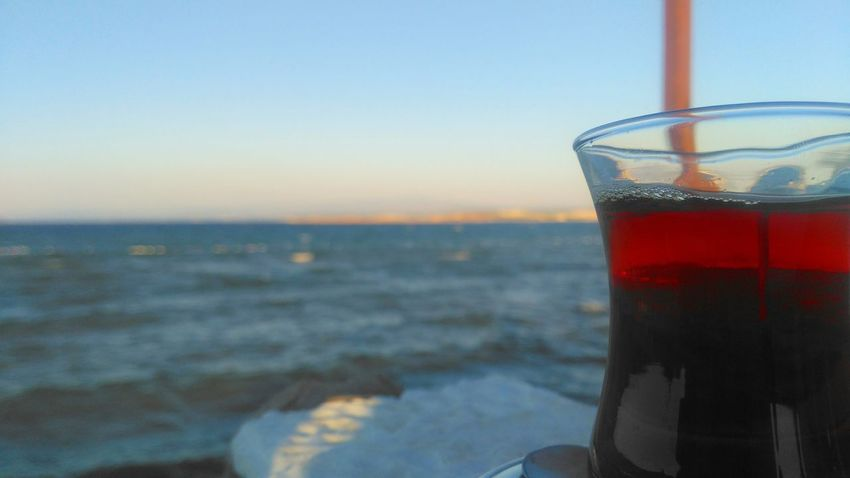 Ayvalik 🐚🐳🐬🏊 Cunda Adası çataltepe Restaurant çay Tea Deniz Sea Balıkesir Türkiye The Week On EyeEm Food Stories