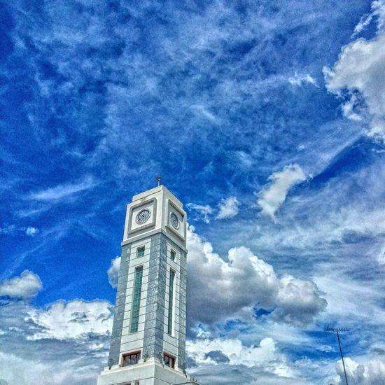Landmark Sky Clouds Greece