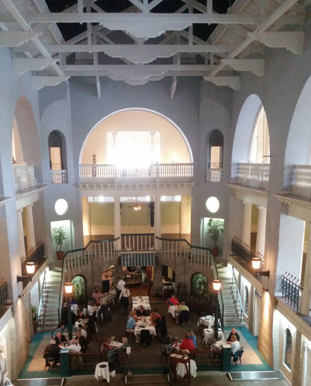 Alcazar Hotel Architecture Interior Views Lightnermuseum Old Hotel Pool Dining St Augustine, FL