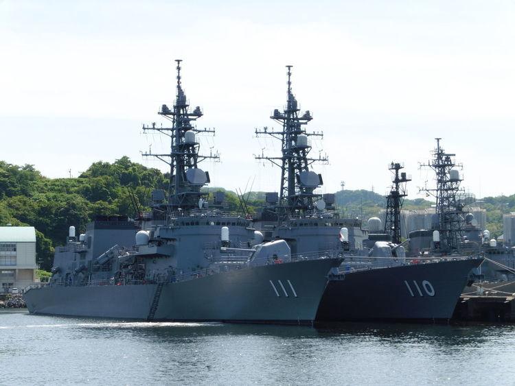 海上自衛隊 Japan Maritime Self-Defense Force 自衛隊 横須賀