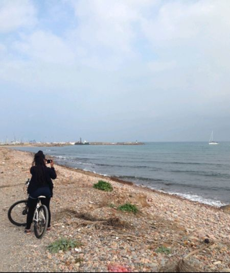 Bike rides in Spain Been There. Riding Bike Only Women One Person Vacations Beach Nature Valencia Landscapes Spain♥ Spanish Village Travel Destinations in Sagunto València Spain🇪🇸