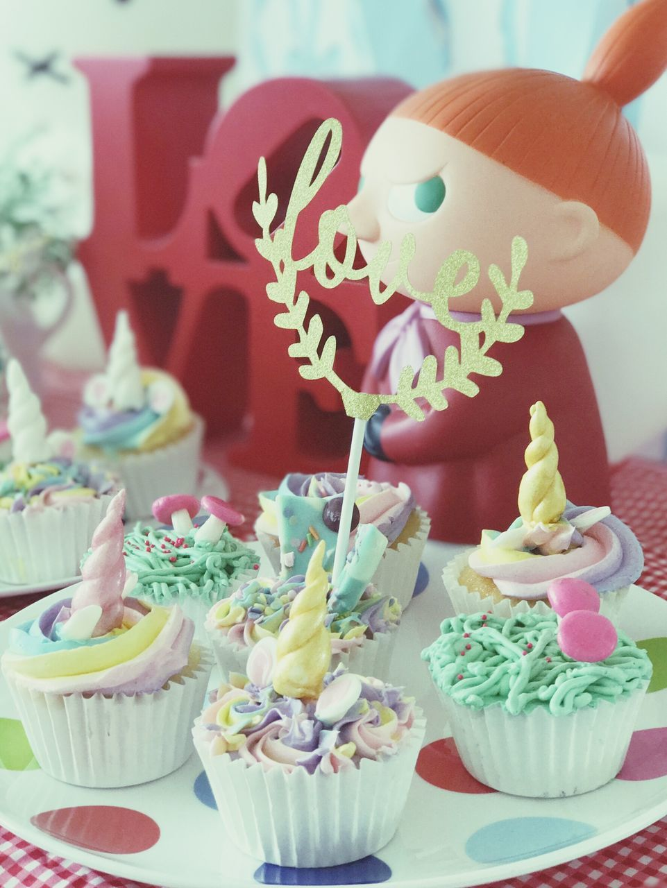 sweet food, food and drink, indulgence, dessert, temptation, cupcake, freshness, food, unhealthy eating, indoors, celebration, sprinkles, table, close-up, cake, ready-to-eat, no people, day