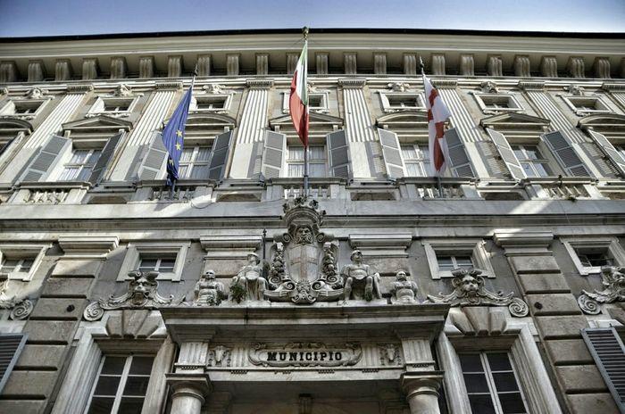 Palazzo Tursi Genova Italia Viagaribaldi