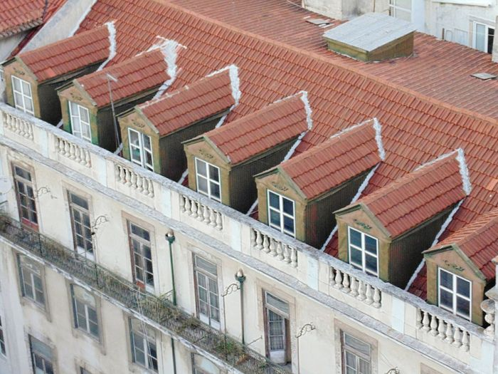 Rooftops in Lisbon-Portugal. Built Structure Building Exterior Rooftops Rooftop View  Lisbon Lisboa Portugal Lisbon - Portugal Lisbonlovers Architecture Building Exterior Built Structure House Roof Residential Building No People Tiled Roof