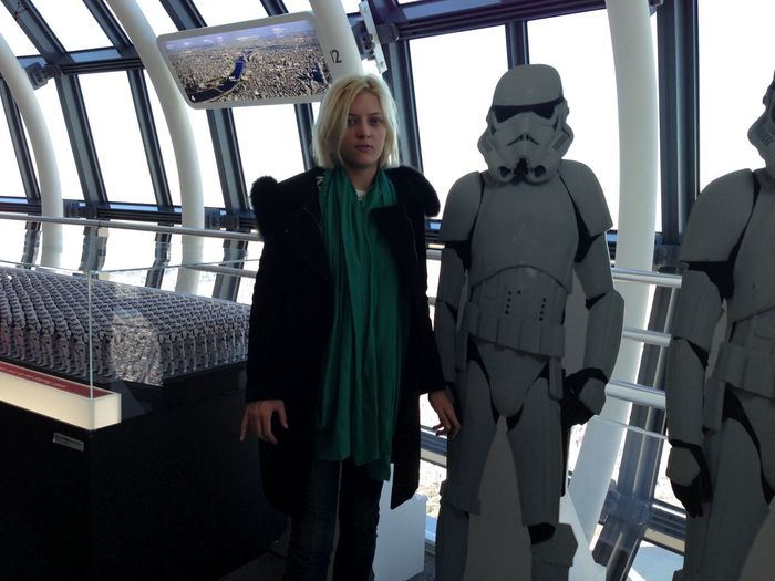 Adult Adults Only Business Finance And Industry Day Indoors  Japan Skytree Japan Star Wars Low Angle View People Senior Adult Senior Men Skytree Standing Star Wars Starwars Three Quarter Length Two People