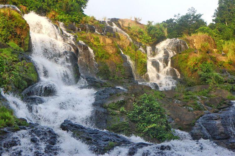 Tarangban falls Water Nature Beauty In Nature No People Scenics Outdoors Waterfall Motion Day Tree Forest Sky Freshness Northern Samar Philippines Tarangban Falls Falls